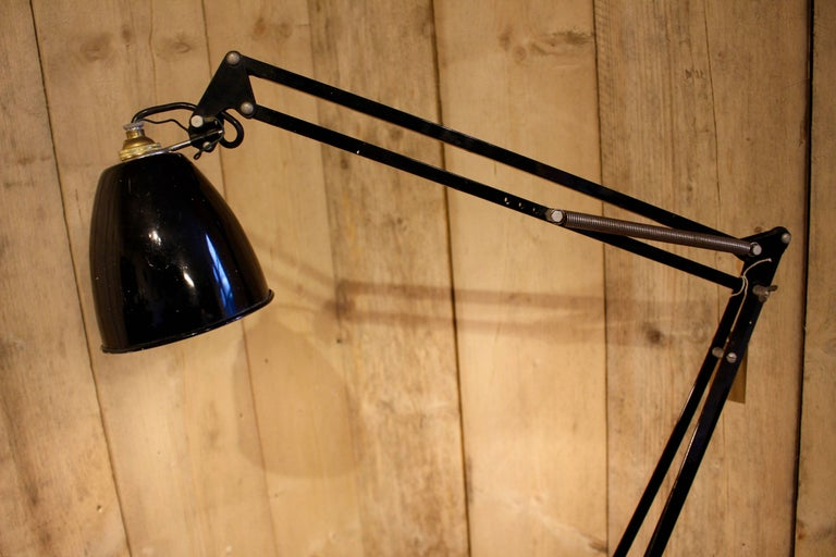 Anglepoise Trolley Floor Lamp Manufactured By Herbert Terry And Sons Circa 1950 At 1stdibs