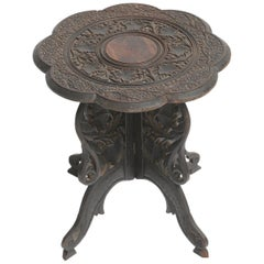 Anglo Indian Accent Table