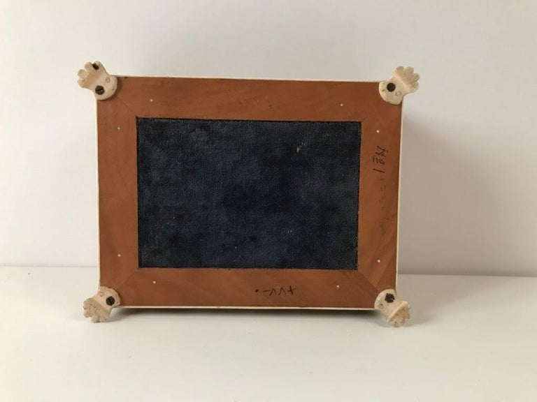 Anglo Indian Bone and Tortoise Shell Box For Sale 8