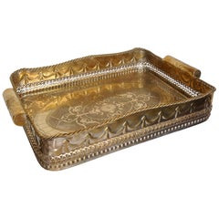 Anglo-Indian Butler's Tray