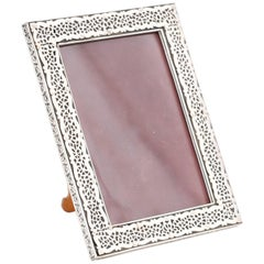 Anglo Indian Carved Bone Picture Frame