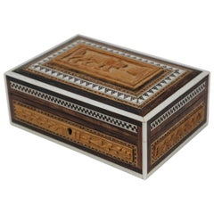 Anglo-Indian Hand Carved Box