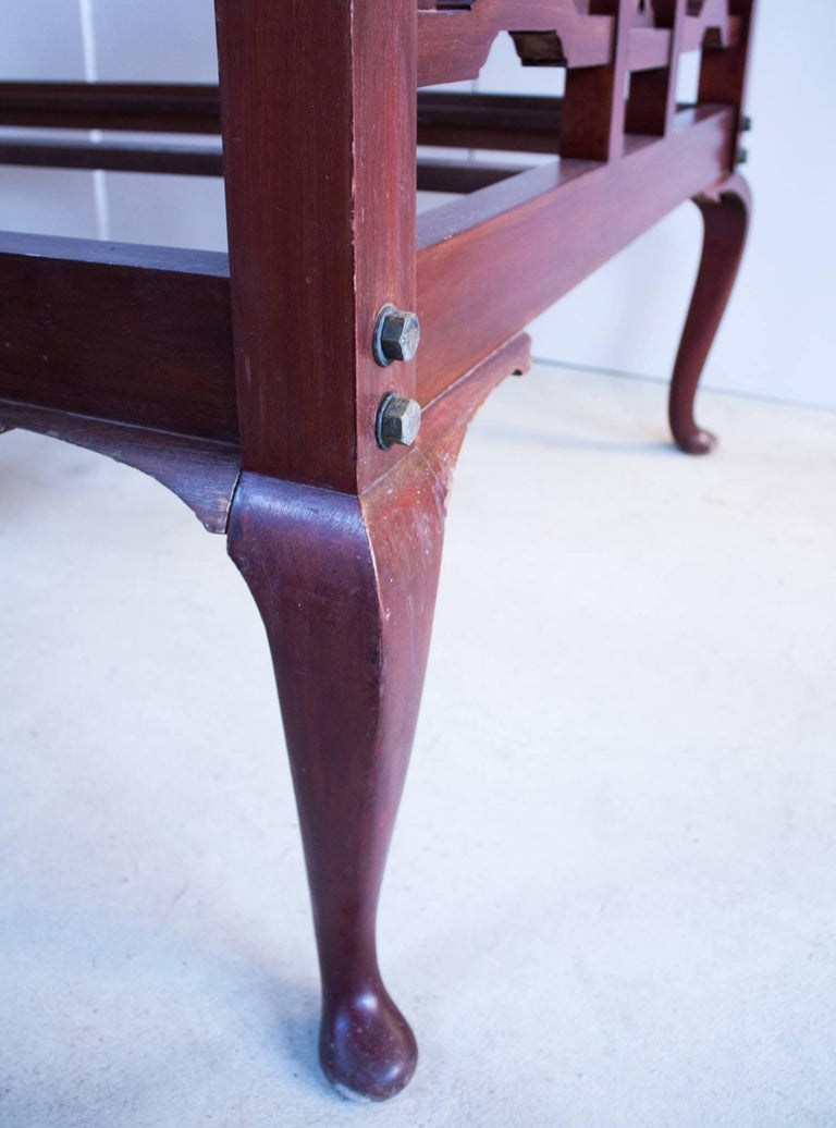 Anglo-Indian Mahogany Tester or Canopy Bed For Sale 4