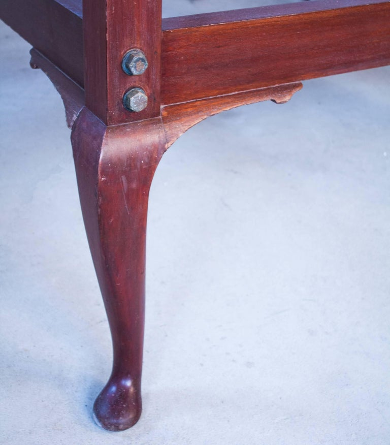 Anglo-Indian Mahogany Tester or Canopy Bed For Sale 5