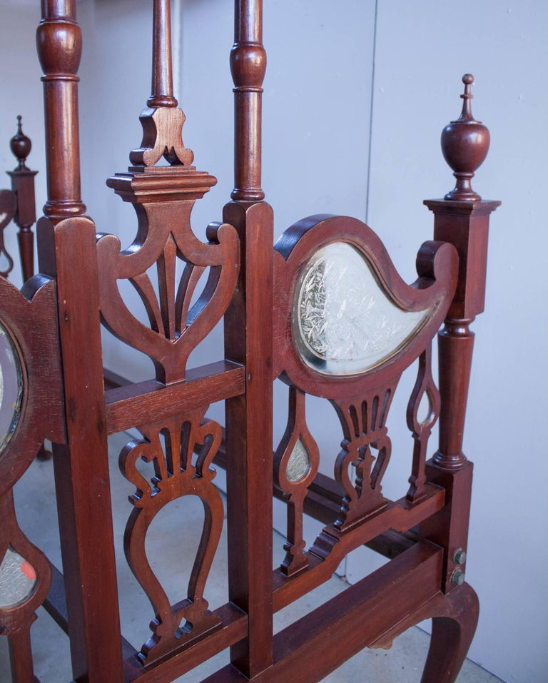 20th Century Anglo-Indian Mahogany Tester or Canopy Bed For Sale