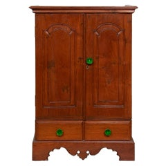Anglo Indian Mid 20th Century Teak Cabinet