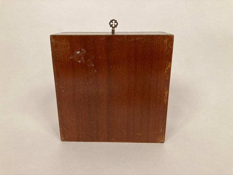 Anglo-Indian Mother of Pearl, Rosewood and Ebony Inlaid Box For Sale 15