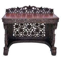 Anglo-Indian Pierced Sideboard