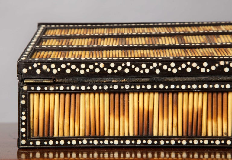 Anglo Indian Quill Writing Slope For Sale 4