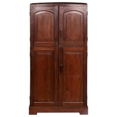 Anglo Indian Rosewood Cabinet from Kerala, c.1930