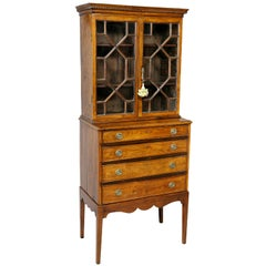 Anglo Indian Rosewood Cabinet on Stand