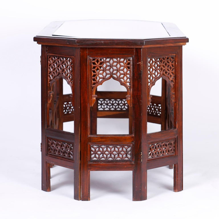 Anglo-Indian Anglo Indian Rosewood Coffee Table For Sale