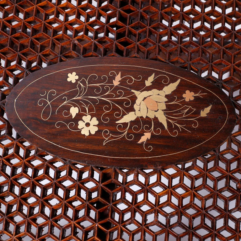Anglo Indian Rosewood Coffee Table For Sale 1