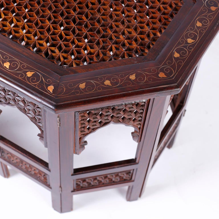 Anglo Indian Rosewood Coffee Table For Sale 2