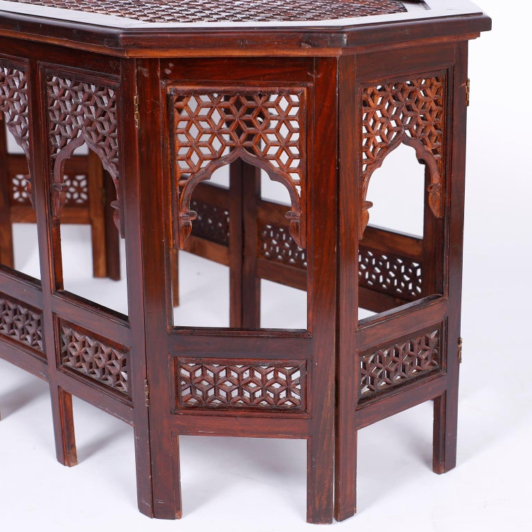 Anglo Indian Rosewood Coffee Table For Sale 3