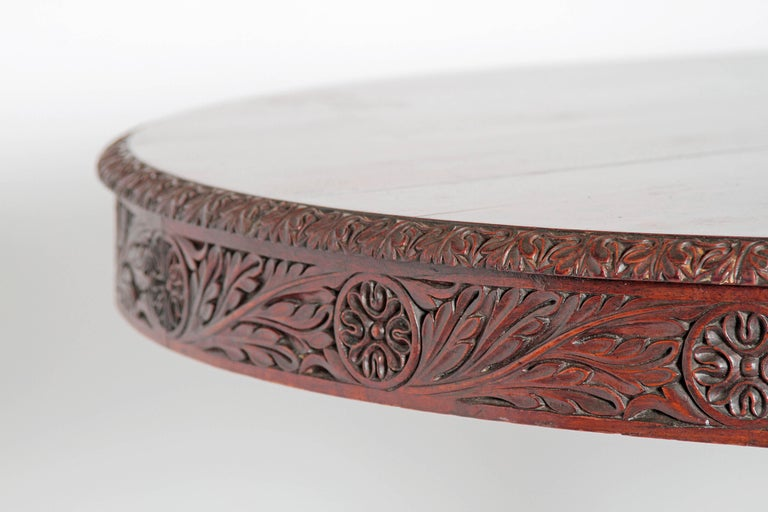 Anglo-Indian Tilt-Top or Centre Table of Mahogany For Sale 6