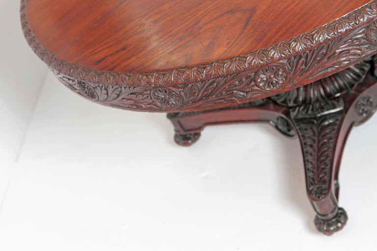 Anglo-Indian Tilt-Top or Centre Table of Mahogany For Sale 3