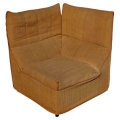 """Angolar Armchair """"Baia"""" design Antonio Citterio e Paolo Nava for B&B, 1970s"""