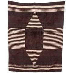 Angora Blanket from Siirt, Turkey, Mid-20th Century