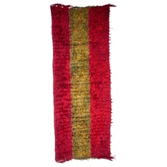 Angora Filikli Rug from Central Anatolia, Turkey, Mid-20th Century