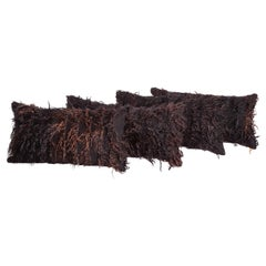 Angora Pillow Cases Fashioned from a Mid-20th Century Filikli Rug