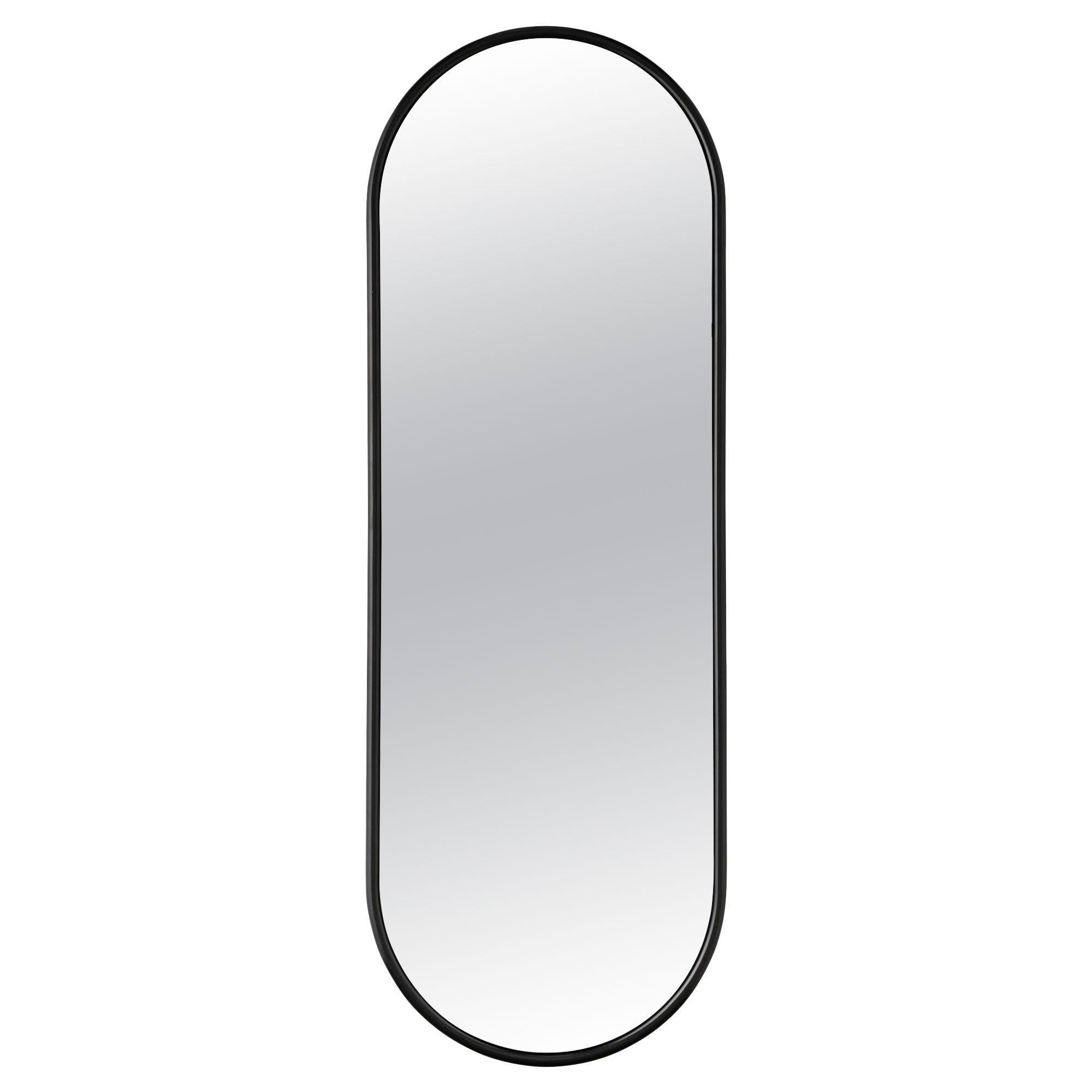 Angui Black Wardrobe Mirror