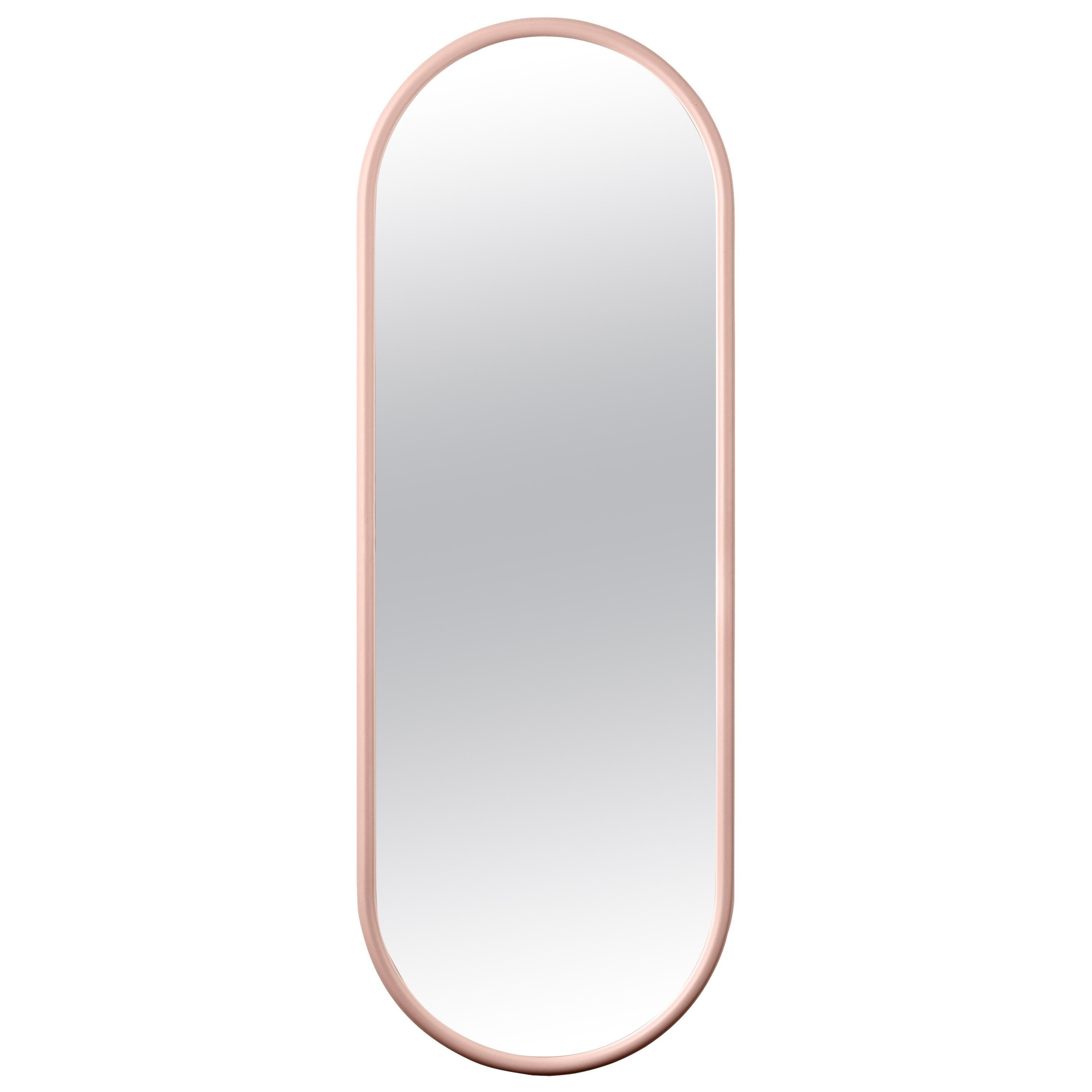 Angui Rose Oval Large Mirror