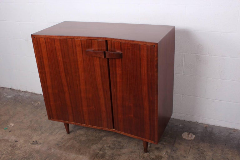 Angular Cabinet by Bertha Schaefer for Singer and Sons In Good Condition For Sale In Dallas, TX
