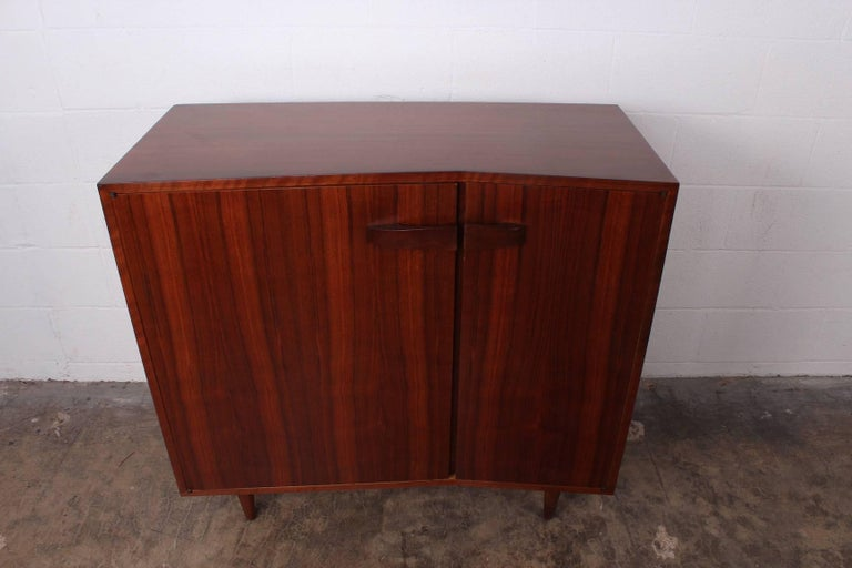 Mid-20th Century Angular Cabinet by Bertha Schaefer for Singer and Sons For Sale