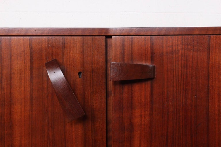Angular Cabinet by Bertha Schaefer for Singer and Sons For Sale 1