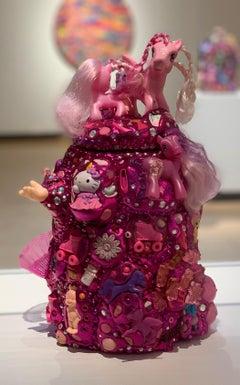 Contemporary Memory Jug Glitter Nostalgic Toys Pink My Little Pony Sparkly