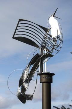 Territorial Bird - Outdoor sculpture