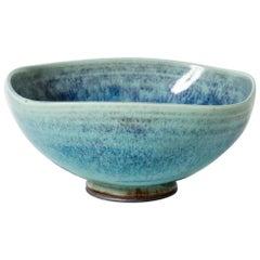 """Aniara"" Stoneware Bowl by Berndt Friberg for Gustavsberg, Sweden, 1970s"