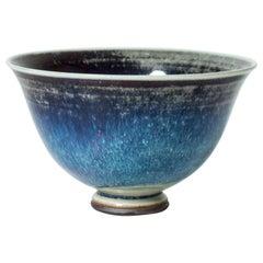 """Aniara"" Stoneware Bowl by Berndt Friberg for Gustavsberg, Sweden, 1975"