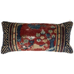 Animal Motif Tibetan Bolster Size Pillow