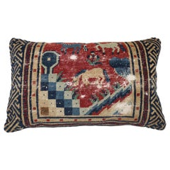 Animal Motif Tibetan Large Lumbar Size Pillow