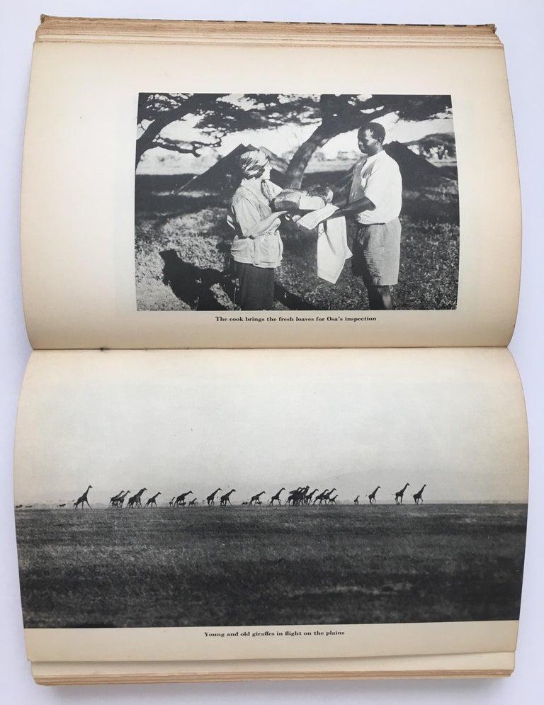 Animal Print Safari Book, I Married Adventure by Osa Johnson For Sale 1