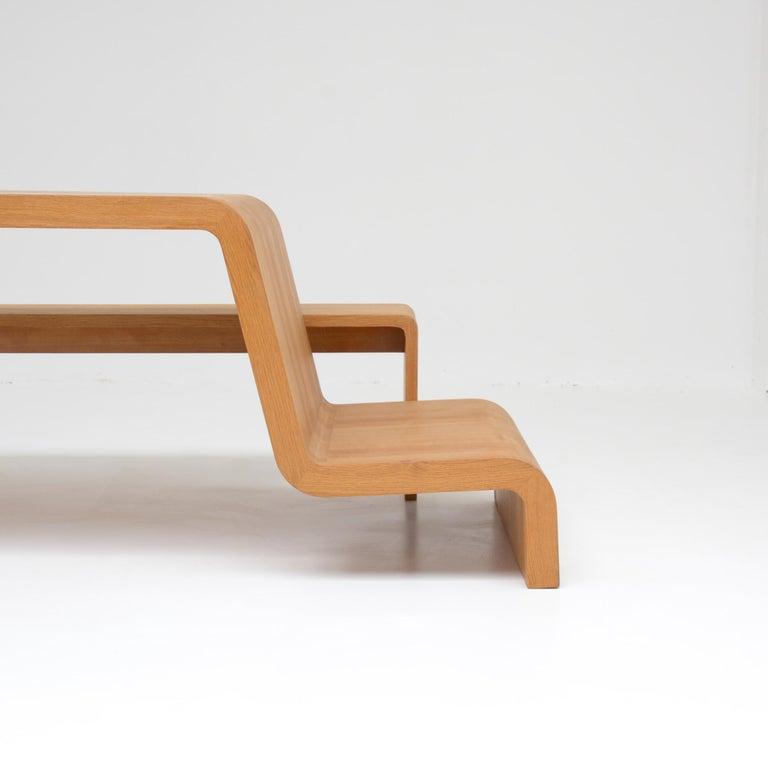 Oak Animal Table by Deevie Vermetten For Sale