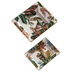Animalia, Contemporary Porcelain Pocket Emptier, Two Sizes, by Vito Nesta