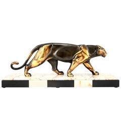 Animalier Bronze Sculpture by Alexander Ouline