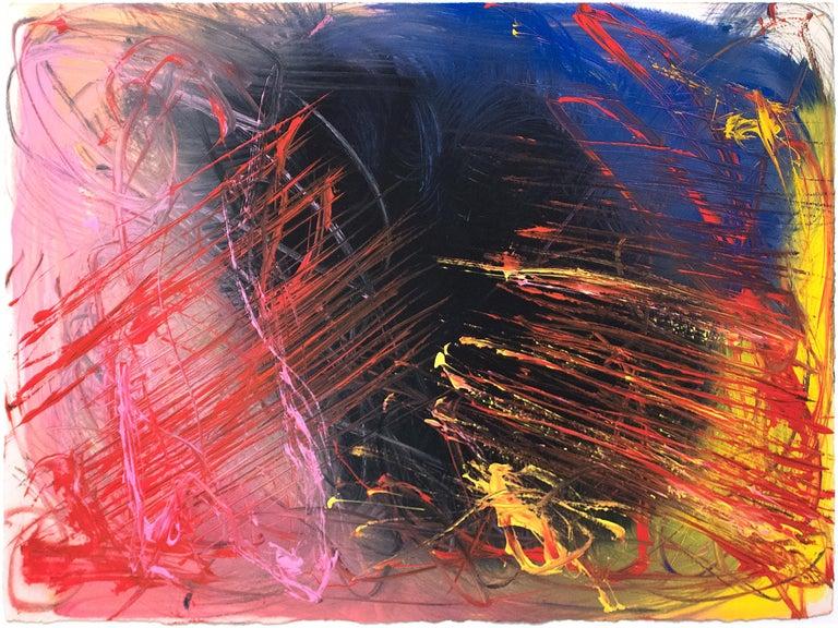 Anish Kapoor Untitled Lamu Series Painting For Sale