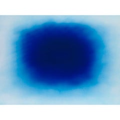Anish Kapoor, Breathing Blue, Offset Lithograph, 2020