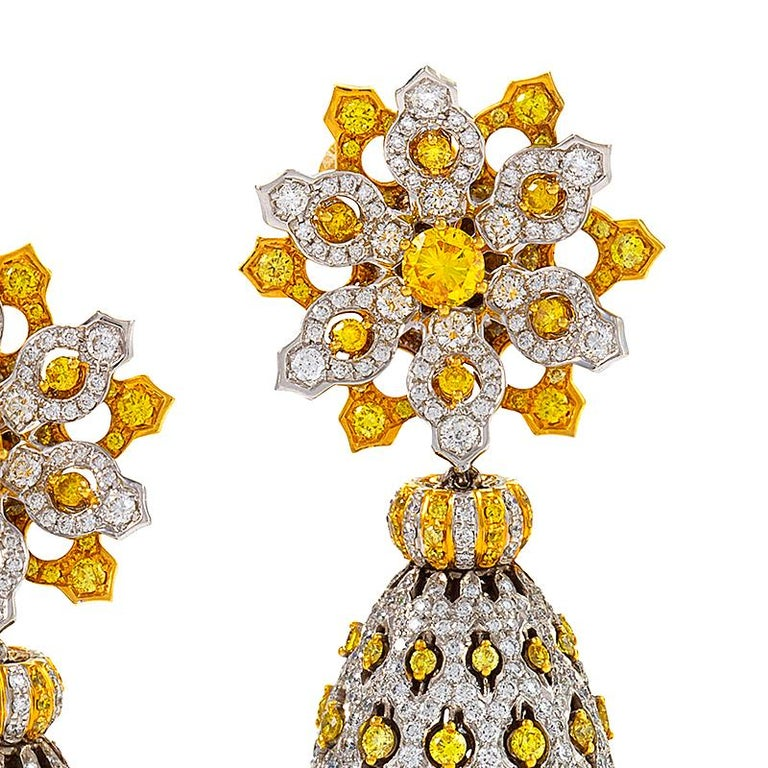 Anjum-Mugal Earrings by Neha Dani In Excellent Condition For Sale In New York, NY