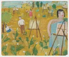 Calvario and Painters