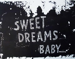 Ann Chernow, Sweet Dreams Baby,  2017, Lithograph, Rag paper, Ink, 28 x 33