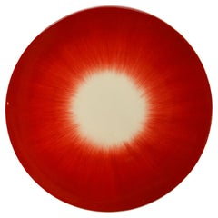 Ann Demeulemeester for Serax Dé Bread Plate in Off White / Red