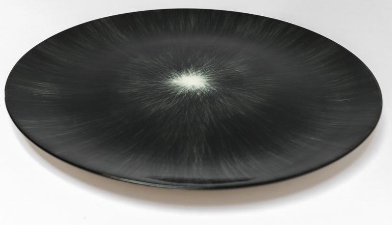 Belgian Ann Demeulemeester for Serax Dé Dinner Plate in Black / Off White