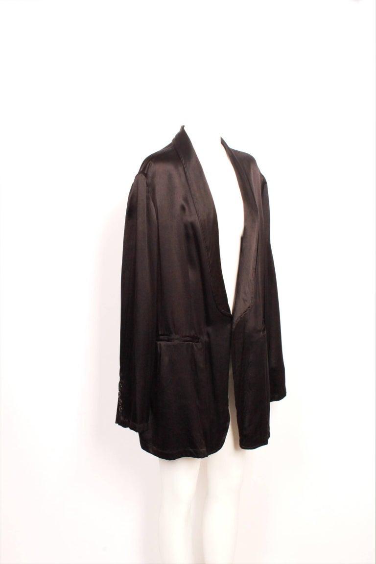 Black Ann Demeulemeester Jacket For Sale