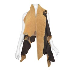 Ann Demeulemeester Suede Lined Vest
