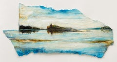 Landline I: Swedish Landscape Painting by Ann-Helen English